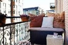 BALCONY + TERRACE