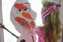 Frozen Birthday Party Ideas on Pinterest / Plan the ultimate Disney Frozen birthday party. PomAdore's board includes cool decorations including tissue paper pom poms with an icy twist, DIY crafts, fun snowman games and easy food ideas kids of all ages will enjoy.