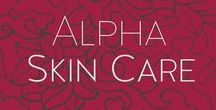 Alpha Skin Care (Formerly Alpha Hydrox) / Alpha™ Skin Care products feature powerful ingredients for results you can see and feel. Alpha™ Skin Care gives you healthy radiant, younger-looking skin!