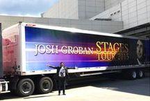 Josh Groban Stages tour photos