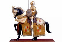 Medieval Horse Statue