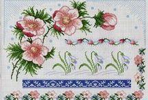 Kereki Eszter cross stitch / keresztöltés