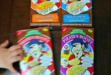 Pirate's Booty Mac and Cheese / Made with organic pasta, 100% real cheese, no artificial colors, no artificial flavors, no preservatives.  / by Pirate's Booty