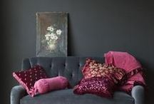 Home Patterns, Arrangements & Ideas / different ideas, fabrics, colours and DIY  for the home / by Nesia Drew