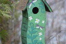 Vogelhuisjes / Rustig