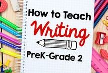 Writing / Strategies, resources and examples to support students in developing writing skills.