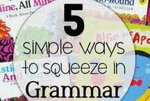 Grammar and Punctuation / Activities and resources to develop grammar and punctuation knowledge and skills.