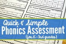 Assessment / Resources relating to Assessment in English and literacy: Strategies, rubrics, feedback and goals.