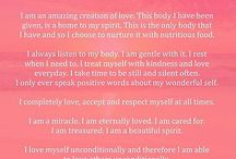 beautiful touching words and affirmations