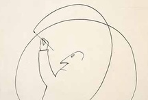 """Drawing / """"Drawing is taking a line for a walk"""" Paul Klee / by Manuel San Payo"""