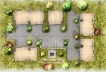 Marketing Plats & Site Plans / Marketing plats & site plans created for Dean3 Design clients.
