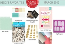 Heidi Sonboul's Favorites / by Craft Junction