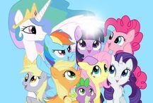 My Little Pony: Friendship is Magic / by Katara Watertribe