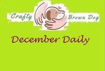 December daily / Document the 25 days of Christmas in Photos  Have fun!!