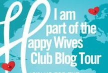 The Happy Wives Club / I guest posted for this fun social networking event.
