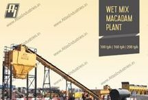 Wet mix macadam plant in UAE / 200 tph wet mix macadam plant by Atlas installed in UAE. Wet mix plant is with maintenance free pug mill and 25 T storage silo.