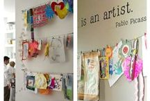 Art Display & Organization