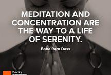 Meditation & Yoga.
