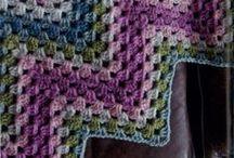 Tejido / Prendas tejidas a dos agujas y crochet. Ahora, proyecto manta. Estudiando variantes.