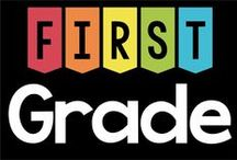 First Grade / All things First Grade: Games, Activities, Learning / by Lavinia Pop