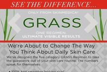 Revolutionise Your Regimen / Introducing the new GRASS Concept from SkinMecia® which will give you the ultimate, visible results you have been waiting for.