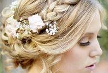 | wedding hairstyles | / Brautfrisuren