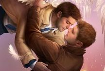 "Destiel / Ok, I ship a little bit Destiel (but not so hard, I hope). They are just adorable and the fan-art is sometimes cute. If you don't ship destiel, just ignore this board. Btw: I have ""normal"" board of SPN and main actors."