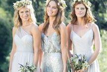 | bridesmaids | / Inspiration für Brautjungfern, Kleider etc.