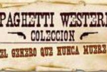 Spaghetti Western / Todos los carteles, portadas de los videos, fotos y escenarios naturales / by José Navarro  Yandme