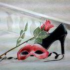 Painting - Ζωγραφική / painting #withGraphitesticks #withColourpencil Ζωγραφική #μεΓραφίτη #μεΧρωματιστάμολύβια