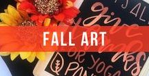 Fall, Fall And More Fall / A board to inspire your autumn creations.