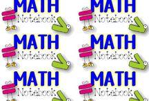 Math Ideas / by Kishori Chhotu