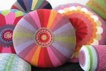 Crochet - poufs, pillows and cushions