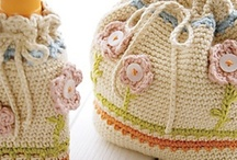 Crochet - bags and baskets