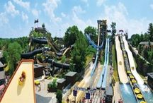 """Wisconsin Dells, Wisconsin / Known as the """"Waterpark Capital of the World"""", this a fun lover's paradise. The Dells is a top family vacation destination, but has something for just about everyone. Check out trip ideas on this board!"""