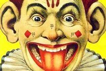 Clowns / Lots of different clown figures/pictures/games, etc. / by Sherri MacRaild