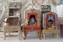 Toy Theatres / Play theatres to be made into miniatures / by Sherri MacRaild