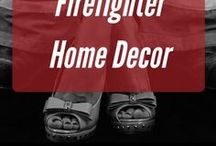 Firefighter Home Decor / Where to find the best fire themed home decor
