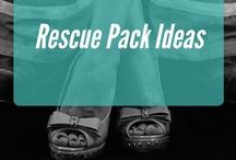 Rescue Pack Ideas / Ideas on items to send in your rescue pack.  (When selecting items, be aware of size and weight.  Smaller, lighter items cost less to mail.)  Sweet ideas in the $10 rule range!