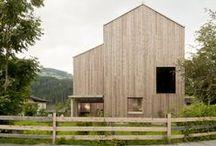 wooden architecture / wooden architecture