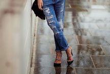 Boyfriends jeans