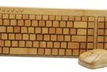 Leuke houten gadges / Leuke houten producten die zorgen dat je iets apart in huis hebt, of draagt, maar in ieder geval anders is dan anders.