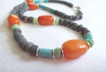 My Etsy Store - Linzart / Handmade beaded jewelry made from semiprecious gemstones as well as handcrafted beads made out of recycled take out food containers.  A donation of $1.00 per sale is made to Amputee Coalition. / by Lindsey Nicholson