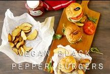 Healthy burgers, fritters etc