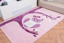 Teppiche mit Eulen / carpets with owls / Wer Eulen mag wird die Teppiche von www.havatex.de lieben