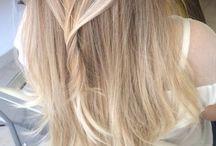 Trabalhos / Cor  cortes penteados  balayagens Loiros platinados escovas make é muito mais