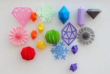 Papier DIY ◊ plain paper DIY / ◊ Papier, ein bisschen Kleber – es kann so einfach sein! ◊  ◊ paper, some dots of glue – it can be so easy! ◊