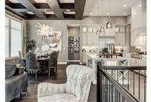 Aménagements intérieurs / Dans ce tableau, vous trouverez plein d'épingles qui pourront vous donner des idées d'aménagements intérieurs pour une maison unique.