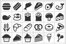 How to Find Great Food and Drink Vector Icons and Illustrations / Food is a universal symbol that is recognized by people throughout the world. When you want to use food graphics that will make your business stand out and recruit new customers, you can find what you need in our Food and Drink Lightbox. Along with individual images, you can also find multiple icons within each available food icon set.