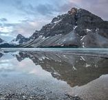 Banff National Park Fine Art Photography / The Fine Art Landscape Photography in this collection are from Banff National Park located in Canada. There are many glacial lakes to visit there including Moraine Lake, Lake Louis, Lake Peyto, Bow Lake, as well as quite a few other wonderful sites. His Stunning Artwork is available thru Fine Art America (FAA). All for your Home Decoration and Interior Design needs. #photography #landscapephotography #canada